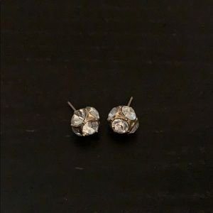 Kate Spade ball shimmer earrings